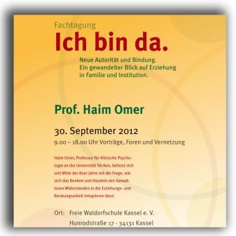 Haim Omer Plakat